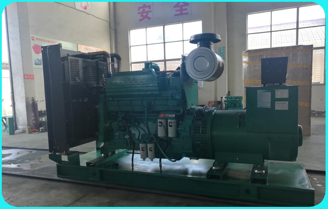 280KW重庆康明斯系列柴油发电机组成功发货至天津