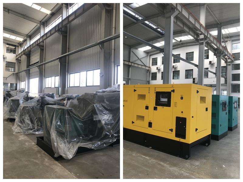 箱式发电机组+小功率段发电机组 可来厂考察现货