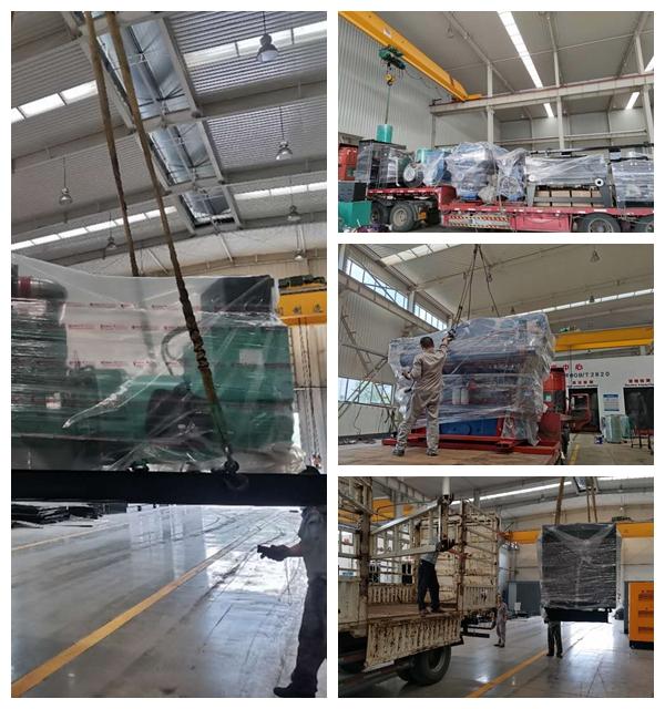 满满一车货运往上海港口交付