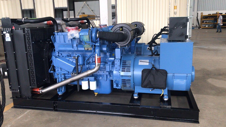 河北客户订购的500千瓦的玉柴机组已完工,等待交付