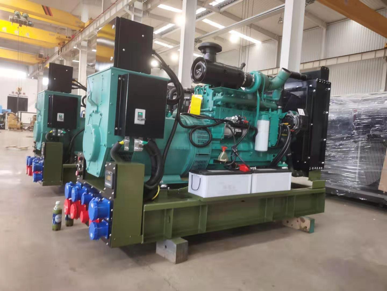 150KW军用柴油发电机组,准备验收