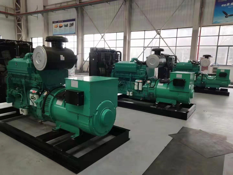 4台400千瓦康明斯柴油发电机组,并机操作,装箱发往尼日利亚!