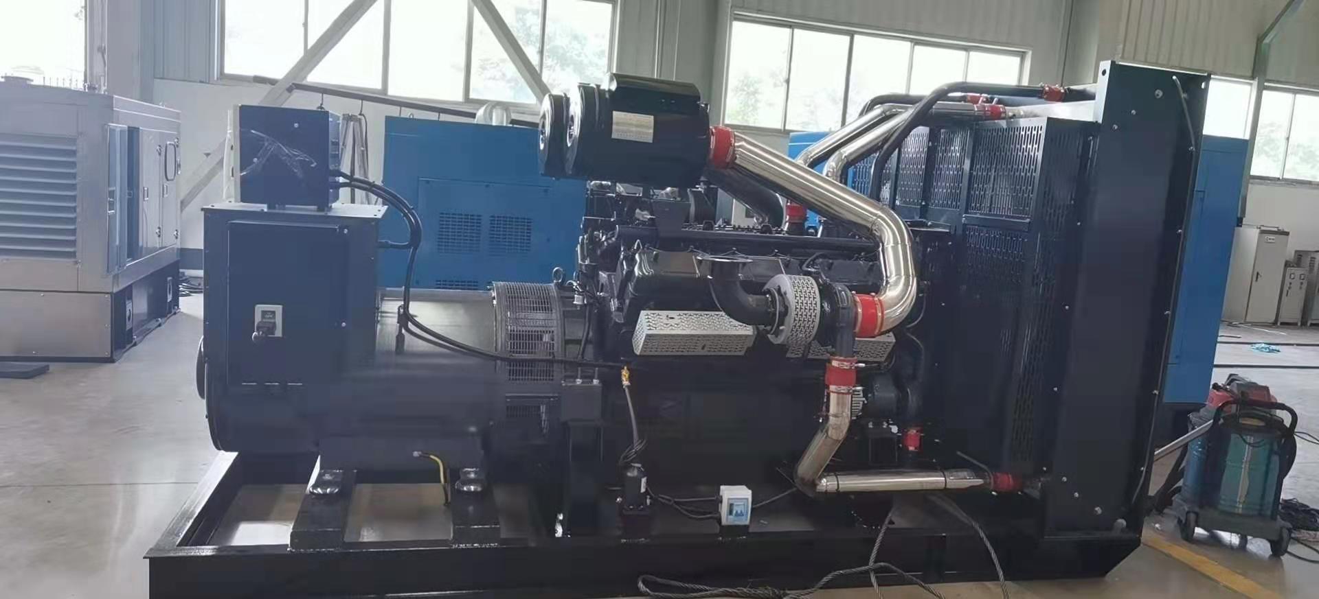 2台柴油发电机组调试结束,随时出货!